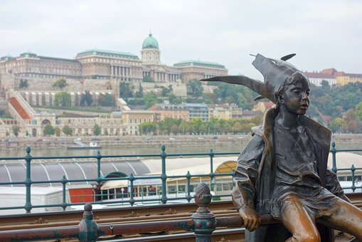 Budapest, Hungary, River, Figure, Places Of Interest