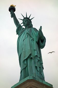 New York, Statue Of Liberty, Places Of Interest, Usa
