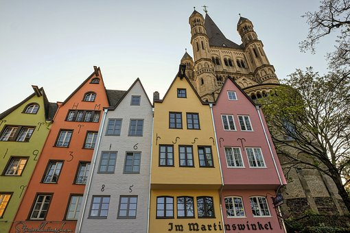 Cologne, Old Town, Rheinland, Architecture, Old, Home