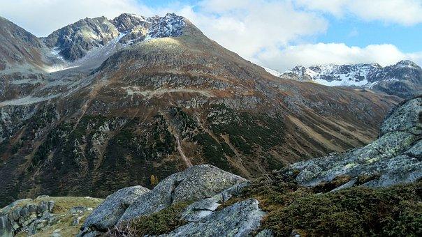 Autumn, Rocks, The Stones, Top, Top View