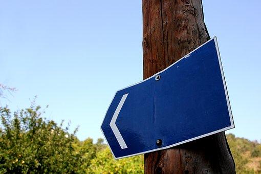 Shield, Blue, Road Sign, Still Life, Sky, Directory