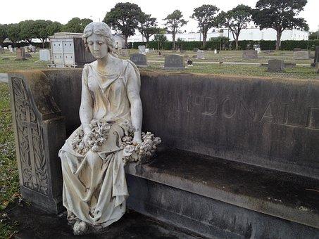 Graveyard, Cemetery, Tombstone, Gravestone, Memorial
