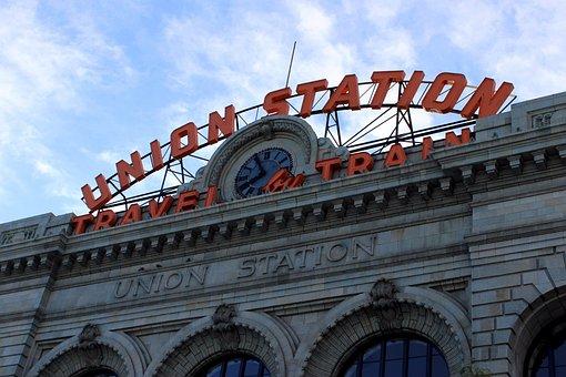 Union Station, Travel By Train, Railway Station, Usa