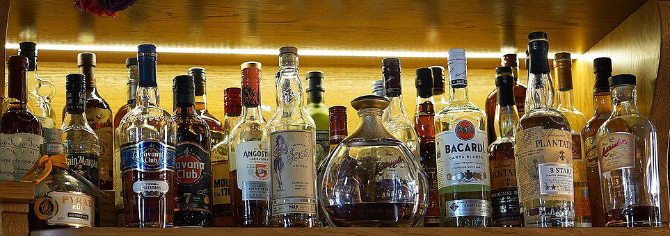 Alcohol, Drinks, Selection, Beverage, Alcoholic, Bar