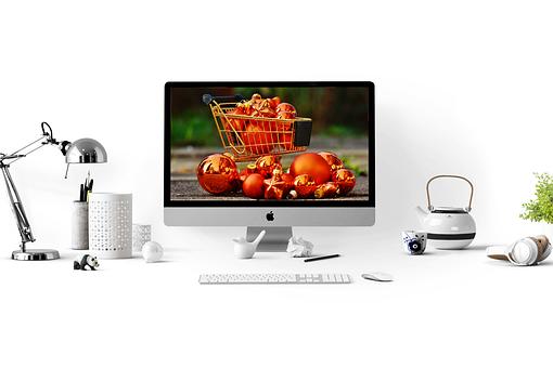 Christmas, Shopping, Online Shopping