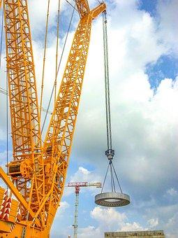 Crane, Construction, Equipment, Upgrade, Industry