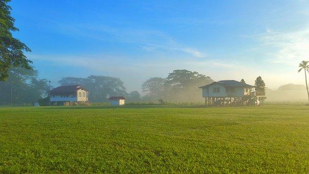 Agriculture, Farm, Landscape, Field, Rural, Farmhouse