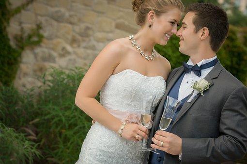 Wedding, Couple, Marriage, Bride, Groom, Wedding Couple
