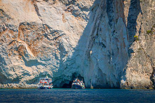Zakynthos, Greece, Sea, Ship, Ships, Cruise, Holiday