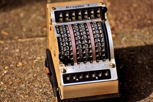 Calculating Machine, Resulta, Old, Antique, Old Abacus