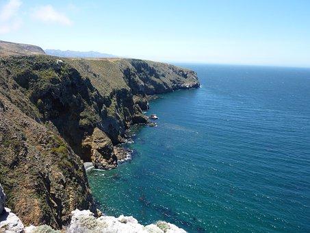 Santa Cruz Island, Pacific Ocean, Channel Islands