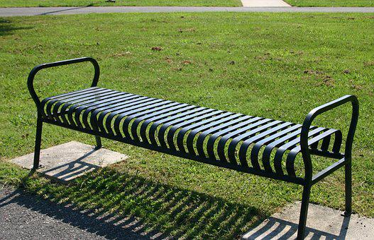 Park Bench, Rest, Outdoor, Green, Grass, Seat, Summer