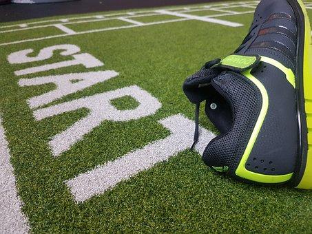 Start, Sport, Shoe
