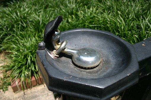Water, Fountain, Drink, Park, Wet, Outdoor, Liquid