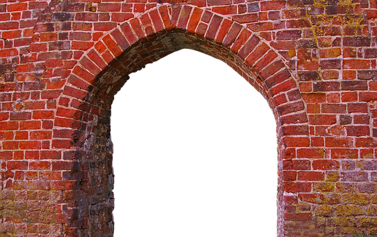 Input, Pointed Arch, Old, Architecture, Middle Ages