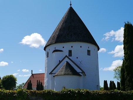 Round Church, Church, Bornholm, Holiday, Experience