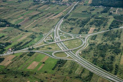 Way, Communication, Travel, Transport Hub, Aerial Photo