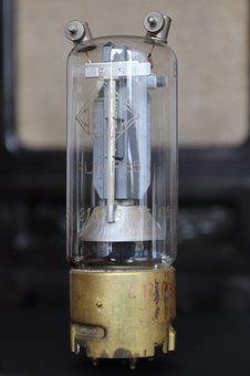 Vacuum Tube, Tube, Component, Gas Filled Tubes, Current
