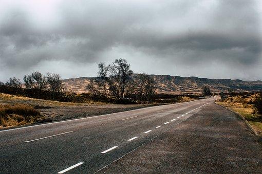 Road, Scotland, Glencoe, Nature, Edinburgh