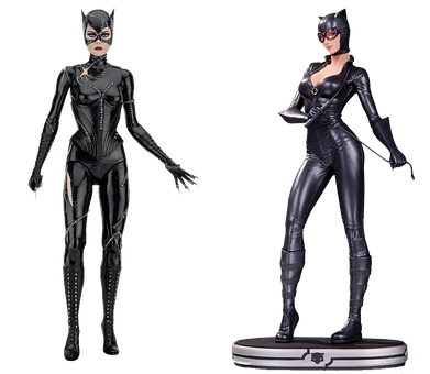 Figure, Cats Woman, Isolated, Collectible