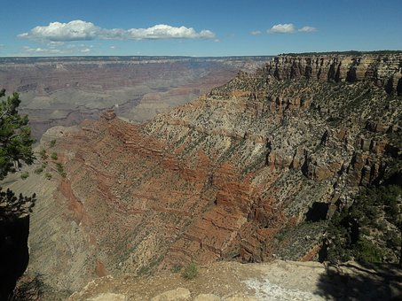 Grand, Canyon, Arizona, Landscape, Mountain, Desert