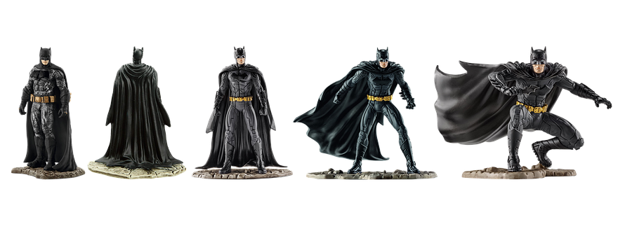 Figure, Bat Man, Isolated, Collectible, Film Character