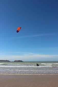 Kite, Kitesurfer, Sport, Wind, Surf, Water Sports, Sky