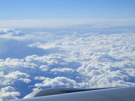 Clouds, Above The Clouds, Plane, Flight, Sky, Nature