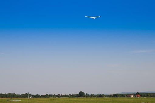 Glider, Fly, Aviation, Sky, Wings, Flight, Travel