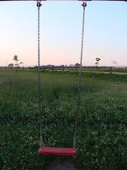 Swing, Childhood, Fun, Child, Joy, Summer, Children