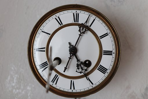 Clock Face, Clock, Pointer, Time Of, Time Indicating