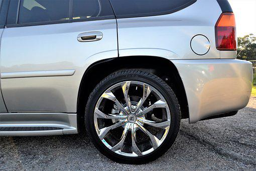 Used, Cadillac Escalade, Wheel, Tire, Beige