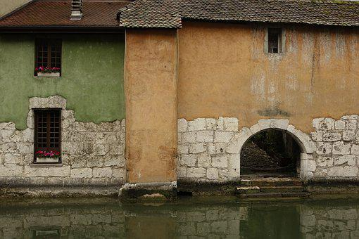 Channel, Water, Architecture, Europe