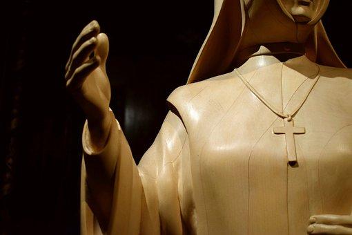 Saint, Church, Statue, Christian, Catholic, Gothic