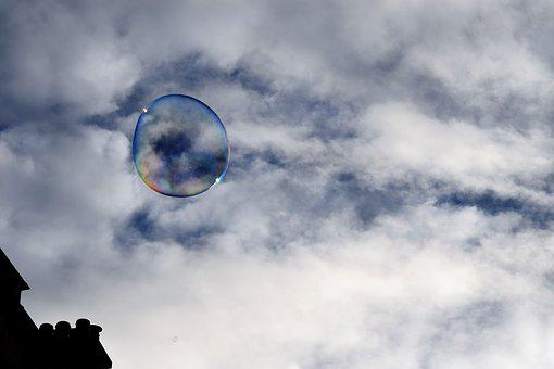 Bubble, Sky, Building, Blue, Play, Architecture, City