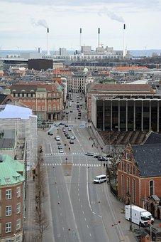 City, Copenhagen, Architecture, Denmark, Industry