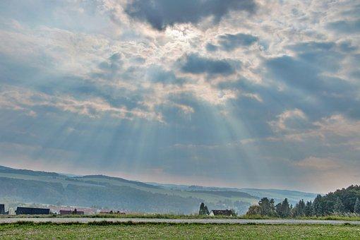 Meadow, Field, Bauer, Land, Nature, Landscape, Green