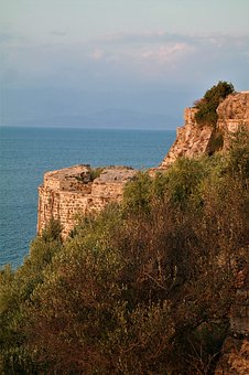 Castle, Fortress, Places Of Interest, Greece, Koroni