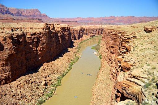 Grand Canyon, The Colorado River, Arizona