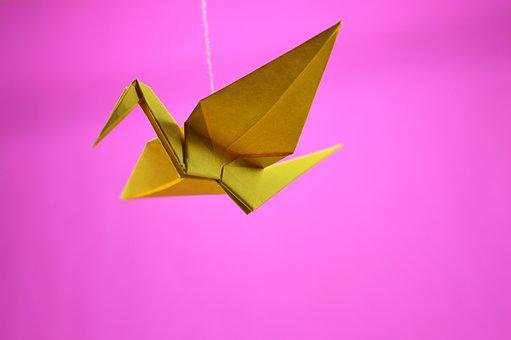 Origami, Crane, Japanese, Japan, Paper, Ability, Asia