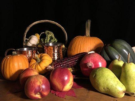 Thanksgiving, Seasonal, Fall, Autumn, Harvest, Pumpkin