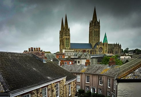Truro, Cornwall, England, Architecture, Religion