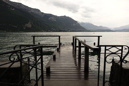 Lake, Gateway, Spring, Water, Mountains, Nature