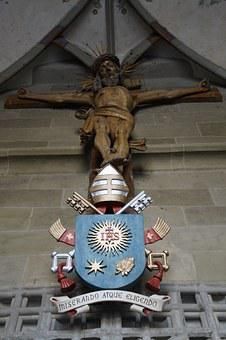 Münster, Constance, Detail, Jesus, Crucified, Cross