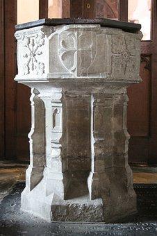 Baptism, Font, St Michael's Church, Sittingbourne