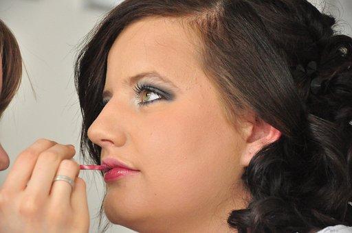 Cosmetics, Beauty, Nature, Face, Lipstick, Beautician
