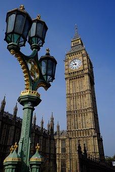 Big, Ben, London Bridge, Parlament, Tradition, British