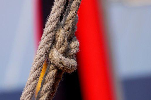 Maritime, Dew, Rope, Leash, Cordage, Ship Traffic Jams