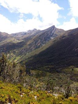 Mountains, Montserrat, Güicán, Colombia, Sky, Montes
