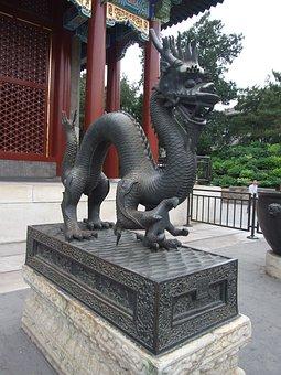 The National Palace Museum, Sculpture, Dragon, Bronze